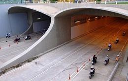 Tối 5/11, cấm xe qua hầm sông Sài Gòn để diễn tập PCCC