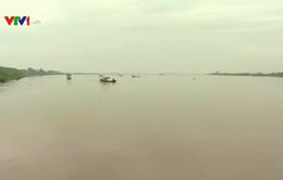 Thái Bình tích cực tìm kiếm nạn nhân mất tích sau vụ chìm tàu trên sông Hồng