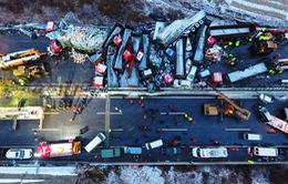 Trung Quốc: 37 xe ô tô đâm liên hoàn trên cao tốc, ít nhất 44 người thương vong