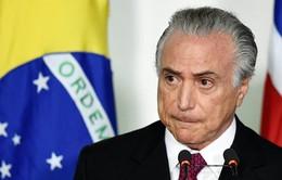 Tổng thống lâm thời Brazil thừa nhận không được người dân ủng hộ