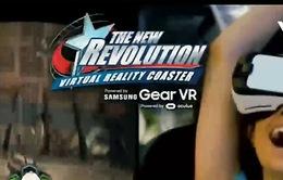 Tàu lượn siêu tốc ứng dụng thực tế ảo đầu tiên trên thế giới