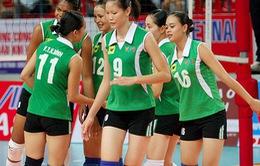 Đội chủ giải VTV Bình Điền thua ngược CLB Trung Quốc ở trận ra quân