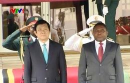 Chủ tịch nước thăm cấp Nhà nước Mozambique