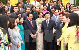 Chủ tịch nước tiếp Đoàn cán bộ chủ chốt của huyện Củ Chi
