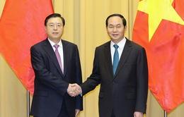 Phát triển quan hệ ổn định, lành mạnh và bền vững với Trung Quốc