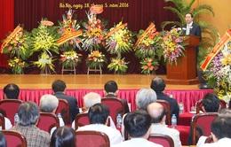 Chủ tịch nước làm việc tại Viện Hàn lâm Khoa học Xã hội