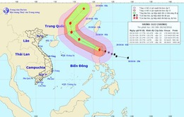 Bão Haima cách quần đảo Hoàng Sa khoảng 650km