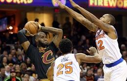 Cleveland Cavaliers chiến thắng trong trận mở màn của giải NBA