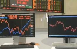 Chứng khoán châu Á giảm điểm sau hai cuộc họp của FED và BOJ