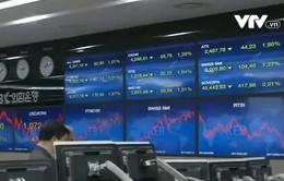 Chứng khoán châu Á giảm điểm sau khi FED phát tín hiệu tăng lãi suất