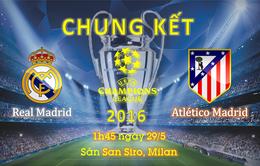[INFOGRAPHIC] Chung kết Champions League: Thành Madrid phân ngôi