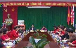 Chủ tịch nước làm việc với Trung ương Hội Chữ thập đỏ Việt Nam