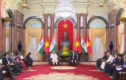 Chủ tịch nước Trần Đại Quang tiếp Thủ tướng Ấn Độ