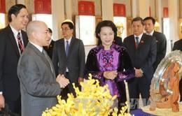 Chủ tịch Quốc hội hội kiến Quốc vương Campuchia