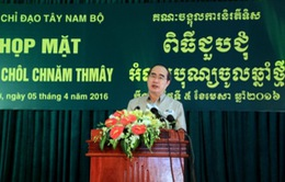 Họp mặt chúc mừng Tết Chol Chnam Thmay 2016