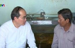 Đồng chí Nguyễn Thiện Nhân: Cần tập trung chăm lo đời sống cho đồng bào Khmer