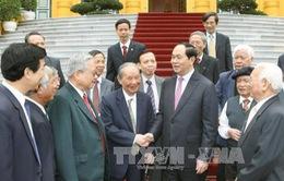 Chủ tịch nước tiếp cựu chuyên gia Việt Nam giúp cách mạng Campuchia