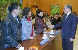 Chủ tịch Quốc hội gặp mặt đại biểu Quốc hội chuyên trách qua các thời kỳ