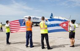 Chuyến bay thương mại đầu tiên nối Mỹ với thủ đô La Habana