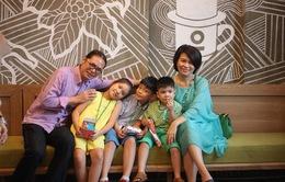 Lần đầu tiên đạo diễn Trần Lực viết sách kể chuyện gia đình