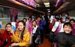 Hỗ trợ 7.000 vé xe cho công nhân về ăn Tết