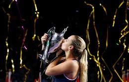 Chung kết WTA Finals 2016: Cibulkova lần đầu lên ngôi
