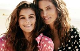 Mẹ con Cindy Crawford tỏa sáng trên Vogue
