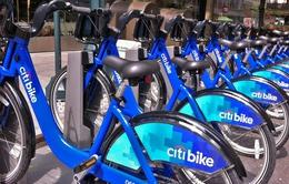 """Người dân New York ngày càng """"nghiện"""" xe đạp công cộng"""