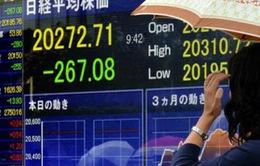 Chứng khoán Nhật Bản giảm xuống mức thấp nhất trong 3 năm