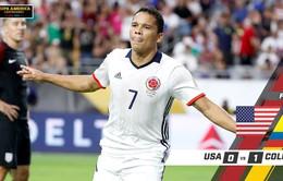 VIDEO Copa America 2016, Mỹ 0-1 Colombia: Chưa thể xóa dớp