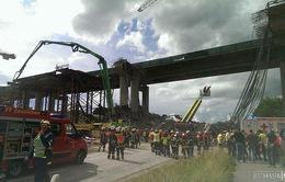 Đức: Sập giàn giáo công trình sửa cầu vượt, ít nhất 2 công nhân thiệt mạng