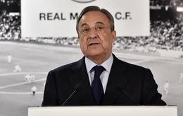 """NÓNG: Chủ tịch Real Madrid cân nhắc việc """"về hưu"""""""