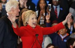 Ứng viên đảng Dân chủ Hillary Clinton chiến thắng tại bang Iowa
