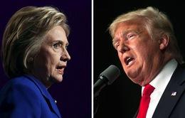 Trước thềm cuộc tranh luận cuối cùng, bà H.Clinton dẫn trước ông D.Trump