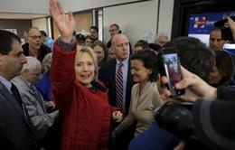Bầu cử sơ bộ Mỹ: Bà Clinton giành chiến thắng sít sao tại bang Iowa