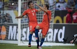 Copa America 2016, Colombia 0-2 Chile: ĐKVĐ tái đấu Argentina tại chung kết