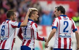 23h30 ngày 29/10, Atletico - Malaga: Chiến thắng để chiếm ngôi đầu