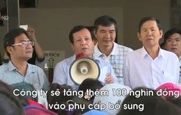 3.000 công nhân không chấp nhận mức tăng phụ cấp của Nissey