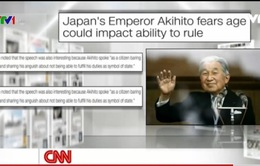 Nhật hoàng tỏ ý muốn thoái vị - Tâm điểm của báo chí quốc tế