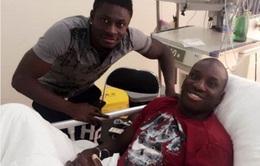 Demba Ba tha thứ cho hậu vệ Trung Quốc sau pha gãy chân ghê rợn