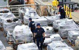Ecuador bắt giữ tàu lặn chở 1 tấn cocaine