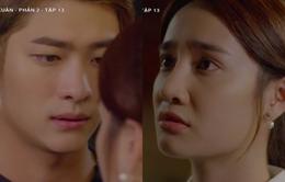 Tuổi thanh xuân 2 - Tập 13: Ôm chặt Linh (Nhã Phương) trong tay, Junsu (Kang Tae Oh) bỗng thấy khác lạ