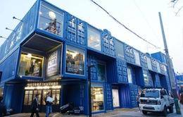 Khám phá trung tâm mua sắm container Common Ground ở Hàn Quốc