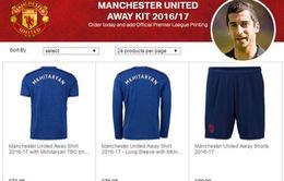 Man Utd bất ngờ bán áo đấu của Mkhitaryan