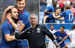 Sao trẻ tỏa sáng, Man Utd của Mourinho thắng trận ra mắt