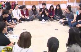 Sinh viên Việt Nam tìm hiểu ASEAN thông qua hội trại