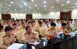 Công an Hà Nội tập huấn cho CSGT ngoại thành