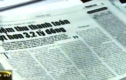 Báo chí góp phần đảm bảo dân chủ, công bằng xã hội