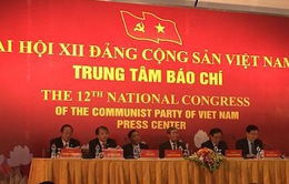 Họp báo trong nước và quốc tế về Đại hội Đảng lần thứ XII