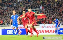 VTV tường thuật trực tiếp 2 trận giao hữu của ĐT Việt Nam gặp ĐT Indonesia và CLB Avispa Fukuoka